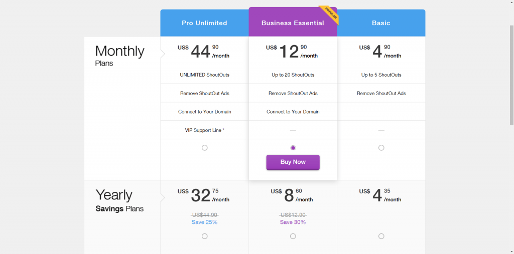 Wix Newsletter Prices