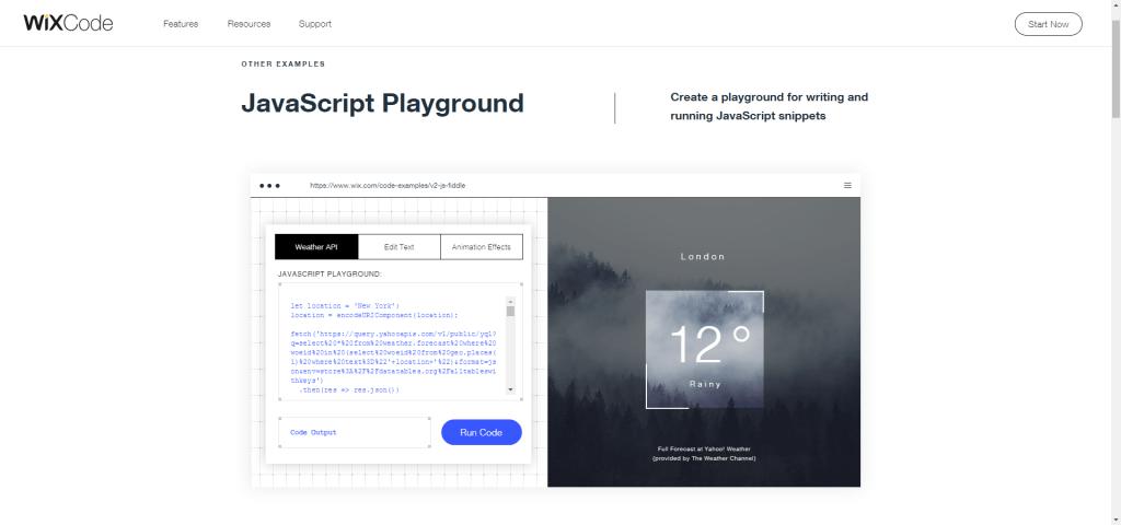 Wix Code Javascript