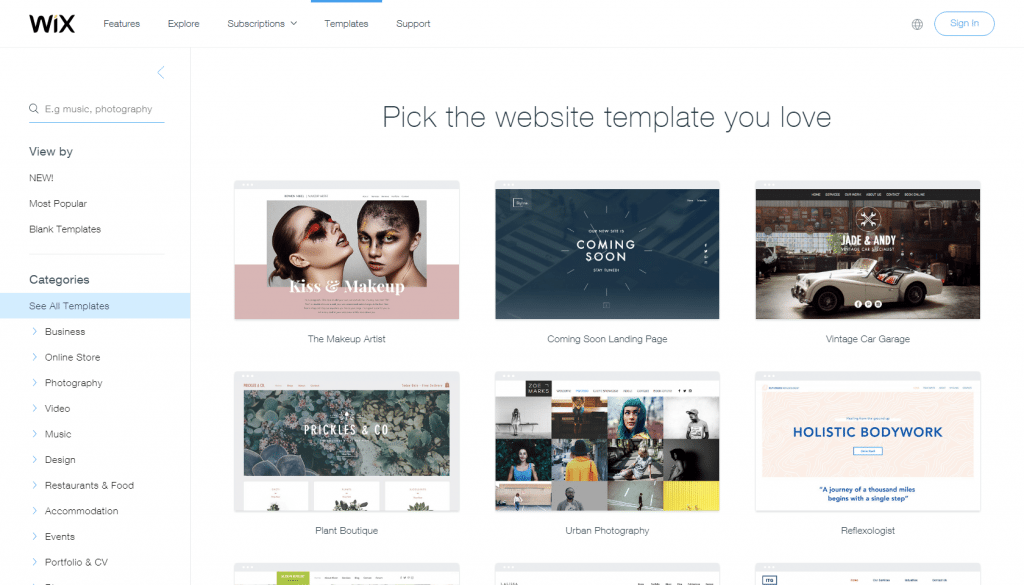 wix templates for wordpress - compare wix vs squarespace is wix better than squarespace
