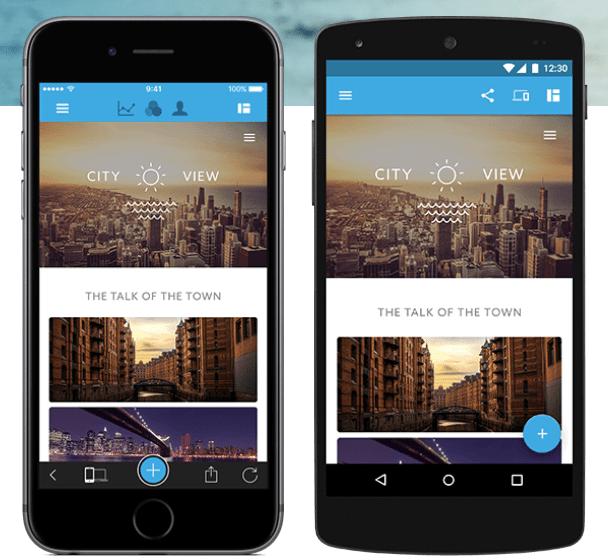 Jimdo Mobile App