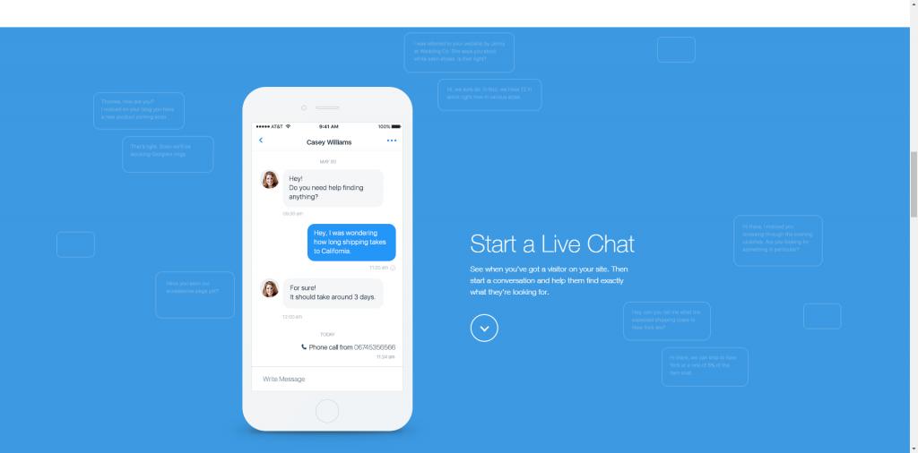 Die Wix Mobile App