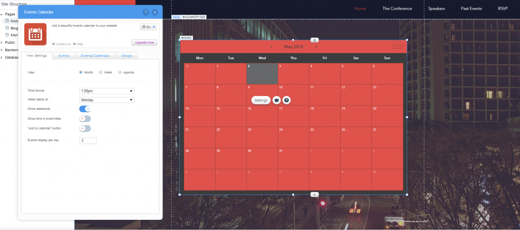 Events Calendar by Inffuse